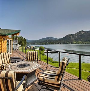 Updated Lakefront Home With Deck On Long Lake! photos Exterior