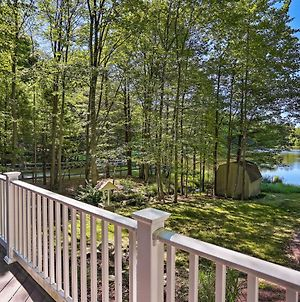 Lakefront Milford Home With Pvt Dock & Hot Tub! photos Exterior