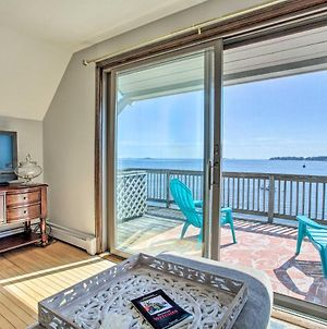 Salem Condo With Ocean Views - Walk To Beach! photos Exterior