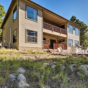 Flagstaff Home With Decks, Patio & Forest View! photos Exterior
