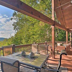 Mountaintop Murphy Cabin By Hiwassee River! photos Exterior
