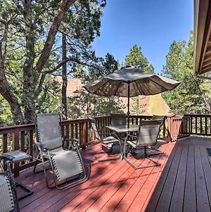 Cabin With Large Deck About 1Block To Coconino Forest photos Exterior