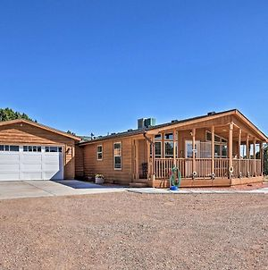 Eco-Conscious Cedar City Cabin With Deck And Mtn View! photos Exterior