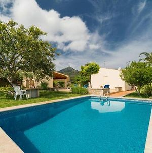Pollenca Villa Sleeps 5 With Pool Air Con And Wifi photos Exterior