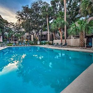 Home With Private Courtyard - Walk To Coligny Beach! photos Exterior