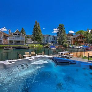 Waterfront Lake Tahoe Retreat With Private Boat Dock photos Exterior