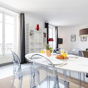 Private Flat With Eiffel Tower View photos Exterior