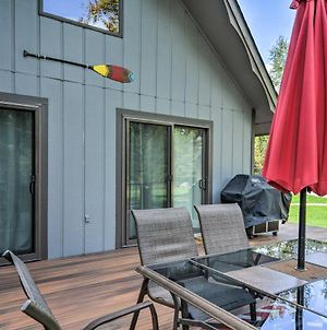 Riverfront Traverse City Cabin With Kayaks And Fire Pit photos Exterior