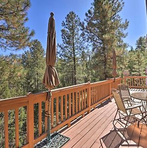 Charming Rustic Cabin In The Pines With Deck And Views! photos Exterior