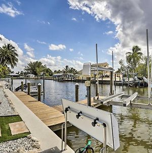 Updated St James City Home On Canal With Pool And Dock photos Exterior