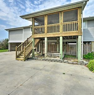 Harkers Island Home With Waterfront Sunset View! photos Exterior