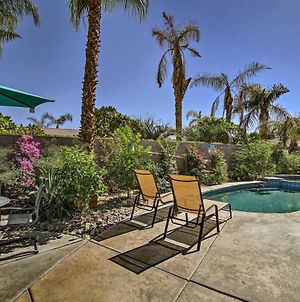 Private Desert Oasis With Pool, Spa And Golf Course! photos Exterior
