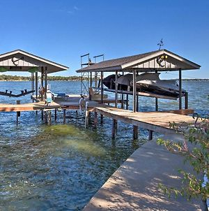 Waterfront Home In Tool With Dock, Fire Pit And Patio! photos Exterior