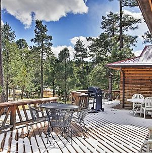 Rustic Alto Cabin With Hot Tub, Deck And Fireplace! photos Exterior