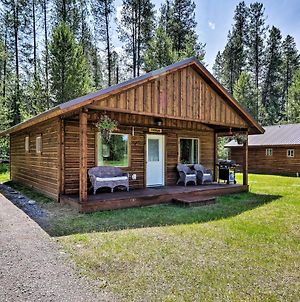 Custom Cabin With Grill And Fire Pit 7 Mi To Glacier! photos Exterior