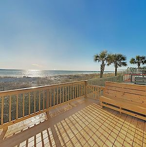 New Listing! Beachfront Townhome W/ Gulf-View Deck Townhouse photos Exterior