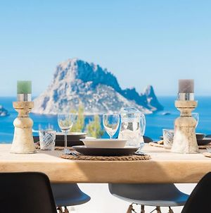 Reduced Price! Villa Vedra, Jacuzzi, Close To Beach, With Sea View Of Es Vedra And Cala Vadella - Due To Crane photos Exterior