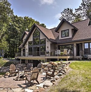 Lakefront Hayward Home With Fire Pit By Ski Trails! photos Exterior