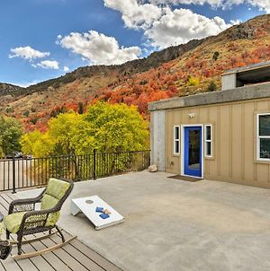 Lava Hot Springs Studio With Deck - Mins To Hot Pools photos Exterior