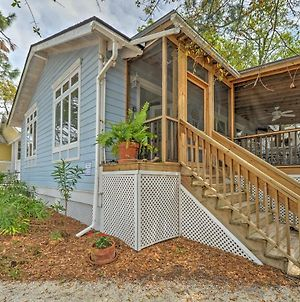 Tybee Island Home W/ Screened Porch, Walk To Beach photos Exterior