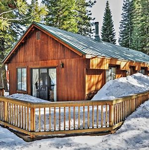 Rustic Truckee Cabin In Tahoe Donner, 7 Mi To Lake photos Exterior
