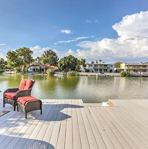 Lakefront Tempe House With Sun Deck, Hot Tub And Boats! photos Exterior