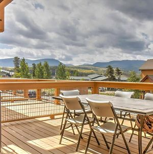Fraser Townhome Near Winter Park With Balcony And Views photos Exterior