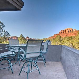 2-Acre Sedona Casita With Deck And Red Rock Views! photos Exterior