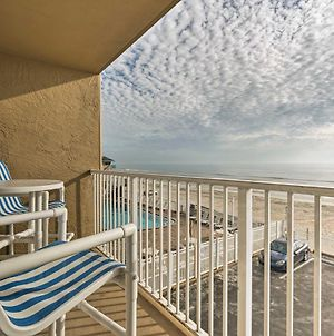 Oceanfront Daytona Beach Studio With Balcony And Pool! photos Exterior
