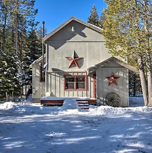 Riverfront Tahoe House With Deck - Near Lake & Skiing! photos Exterior