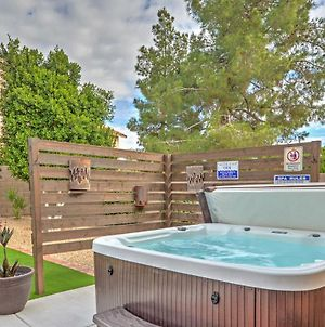 Fenced Hot Tub And Bbq Oasis - Modern Scottsdale Home photos Exterior