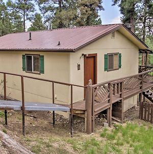 Cozy Ruidoso Ski Cabin With Covered Deck And Fireplace photos Exterior