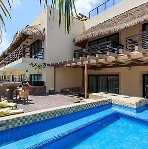 Huge Terrace With Private Pool Steps To Mamitas! photos Exterior