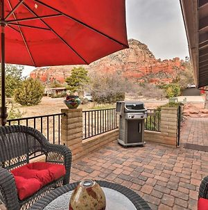 Cozy, Modern Sedona Apt With Patio And Red Rock Views! photos Exterior