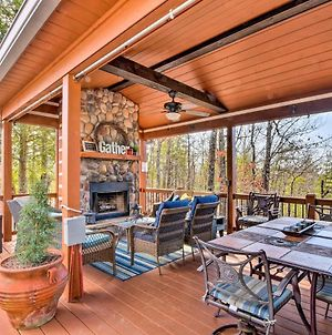 Cherry Log Mountain Cabin Hot Tub,Fire Pit And More photos Exterior