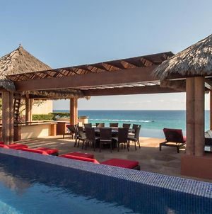 Spectacular Beachfront 7Br Villa Traquilidad Located In Puerto Los Cabos photos Exterior