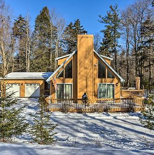 Private Poconos Cabin 16 Mi To Camelback Mountain photos Exterior