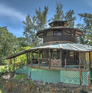 Secluded Keaau House With Hot Tub And Wraparound Porch! photos Exterior