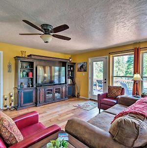 Updated Garden Valley Home With Large Deck And Views! photos Exterior