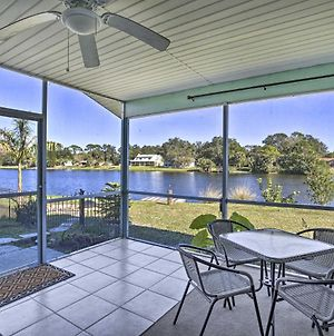 North Port Home With Lakefront Lanai Near Bch! photos Exterior