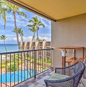 Oceanfront Lahaina Condo With Balcony And Pool Access! photos Exterior