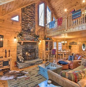Blue Ridge Mtn View Getaway With Hot Tub And Fire Pit! photos Exterior