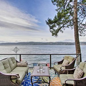Waterfront Home On Hood Canal Hot Tub And Dock photos Exterior