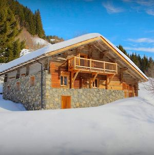 Secluded Stunning Ski Chalet For 12 La Giettaz With Breathtaking Aravis Views Close To Slopes photos Exterior