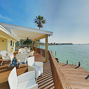 New Listing! Waterfront Gem With Private Dock & Pool Home photos Exterior