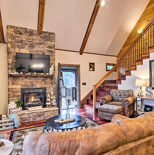 Mountain Cabin With Fire Pit, Walk To Golf And Fishing! photos Exterior