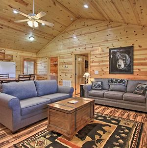 Dog-Friendly Sevierville Log Cabin With Pool Access! photos Exterior