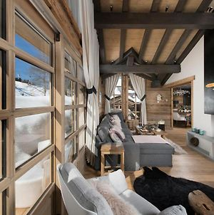 Amazing ! Chalet With Swimming Pool Ski In Ski Out 12 People! photos Exterior