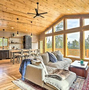 Mountainside Fairplay Cabin With Game Room And Sauna! photos Exterior