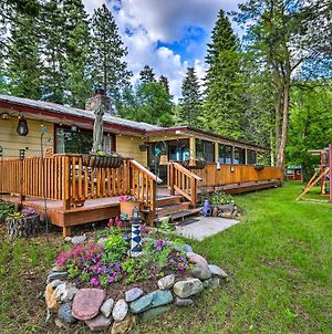 Flathead Lake House With Private Beach & Boat Dock! photos Exterior